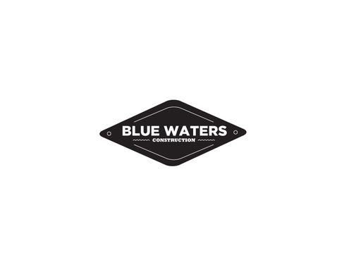 Blue Waters Construction A Logo, Monogram, or Icon  Draft # 433 by ricpulanco