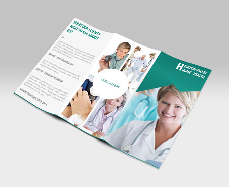 Horizon Valley Home Health Care Marketing collateral  Draft # 2 by xclusivedesigns