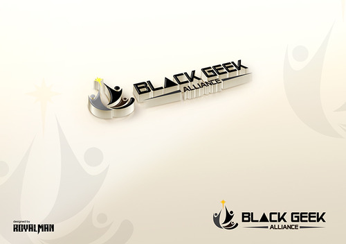 Black Geek Alliance A Logo, Monogram, or Icon  Draft # 387 by RoyalMan