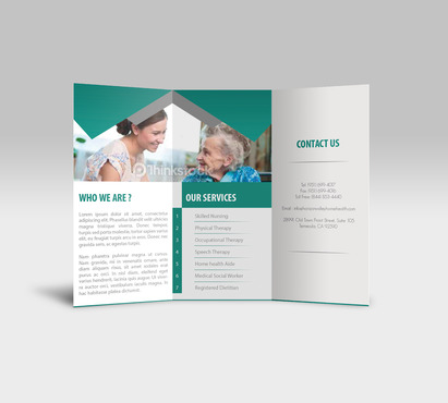 Horizon Valley Home Health Care Marketing collateral  Draft # 3 by xclusivedesigns