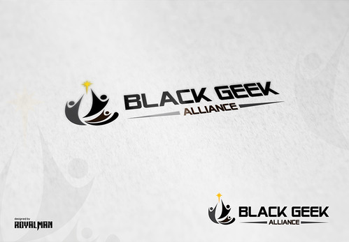 Black Geek Alliance A Logo, Monogram, or Icon  Draft # 399 by RoyalMan