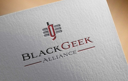 Black Geek Alliance A Logo, Monogram, or Icon  Draft # 423 by DrawSigner