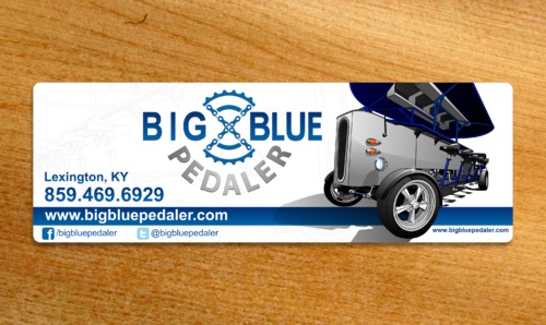 Big Blue Pedaler Other  Draft # 27 by Scarl8
