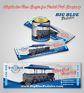 Big Blue Pedaler Other Winning Design by syukurkurnia