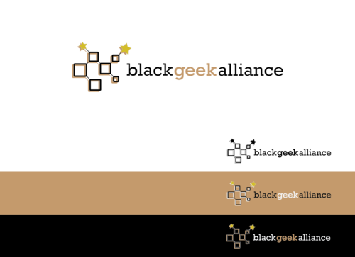 Black Geek Alliance Logo Winning Design by StillDunno