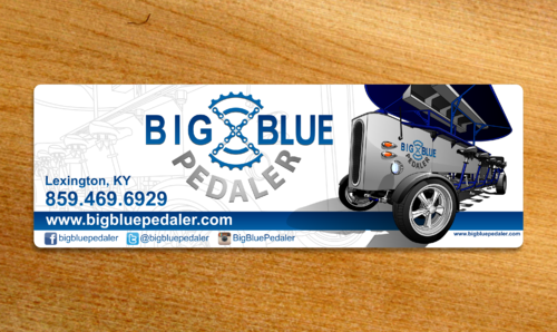 Big Blue Pedaler Other  Draft # 29 by Scarl8