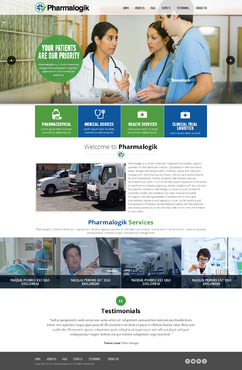 Clean, Safe, On time Complete Web Design Solution  Draft # 24 by EXPartLogo