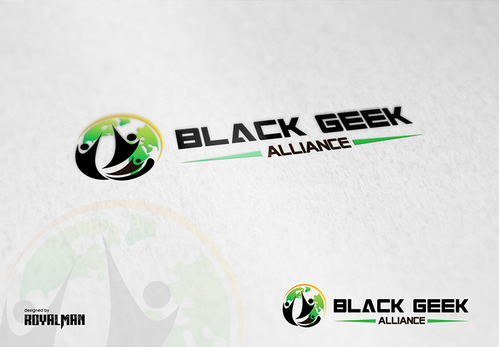Black Geek Alliance A Logo, Monogram, or Icon  Draft # 502 by RoyalMan