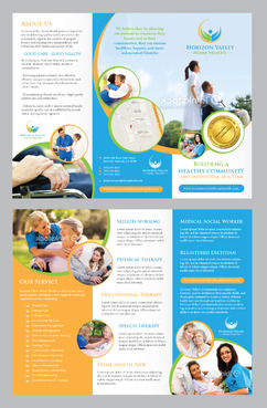 Horizon Valley Home Health Care Marketing collateral Winning Design by Achiver