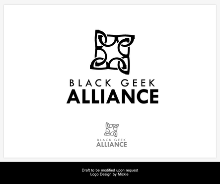 Black Geek Alliance A Logo, Monogram, or Icon  Draft # 509 by mickle