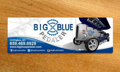 Big Blue Pedaler Other  Draft # 37 by Scarl8