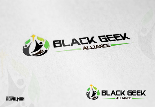 Black Geek Alliance A Logo, Monogram, or Icon  Draft # 520 by RoyalMan