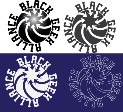 Black Geek Alliance A Logo, Monogram, or Icon  Draft # 522 by l3m0ns