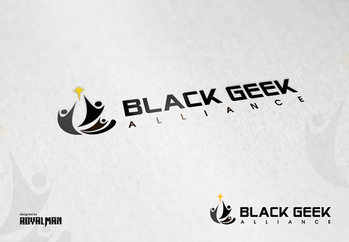 Black Geek Alliance A Logo, Monogram, or Icon  Draft # 523 by RoyalMan