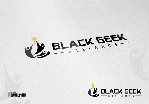 Black Geek Alliance A Logo, Monogram, or Icon  Draft # 524 by RoyalMan