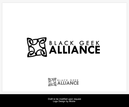 Black Geek Alliance A Logo, Monogram, or Icon  Draft # 543 by mickle