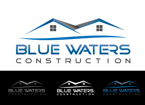 Blue Waters Construction A Logo, Monogram, or Icon  Draft # 561 by AMHeart1