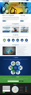 Clean, Safe, On time Complete Web Design Solution Winning Design by jogdesigner