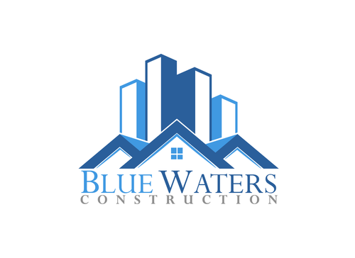 Blue Waters Construction A Logo, Monogram, or Icon  Draft # 600 by molteck