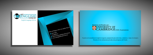 My English Coach Business Cards and Stationery  Draft # 350 by galihWc85