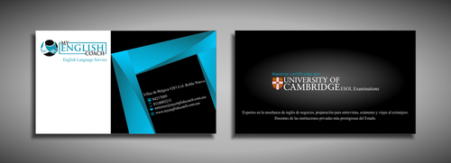 My English Coach Business Cards and Stationery  Draft # 351 by galihWc85