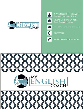 My English Coach Business Cards and Stationery  Draft # 390 by DazedUA