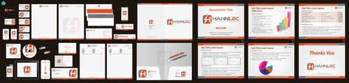 HAHNLEC ELECTRICAL SOLUTIONS Business Cards and Stationery  Draft # 470 by aheadpoint