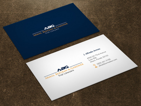 "phrase ""Trial Lawyers"" should appear Business Cards and Stationery  Draft # 10 by Xpert"