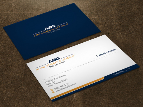 "phrase ""Trial Lawyers"" should appear Business Cards and Stationery Winning Design by Xpert"