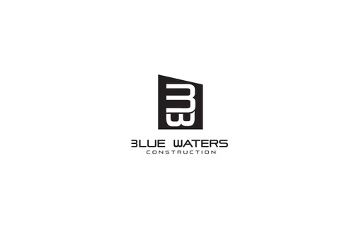 Blue Waters Construction A Logo, Monogram, or Icon  Draft # 729 by DEATHCORE
