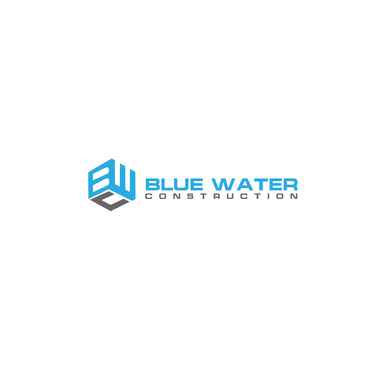 Blue Waters Construction A Logo, Monogram, or Icon  Draft # 814 by creativeluke