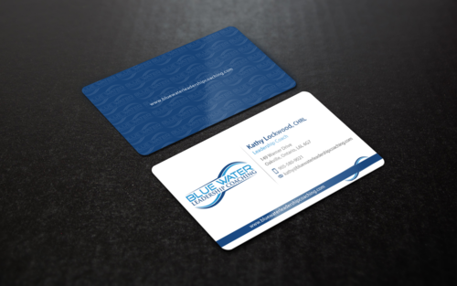 Blue Water Leadership Coaching Business Cards and Stationery  Draft # 88 by einsanimation