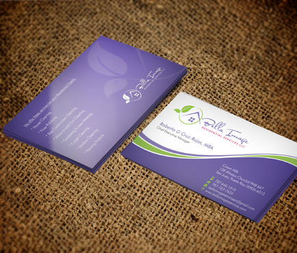 Bella Image Residential Services LLC Business Cards and Stationery  Draft # 5 by Xpert