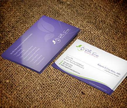 Bella Image Residential Services LLC Business Cards and Stationery  Draft # 6 by Xpert