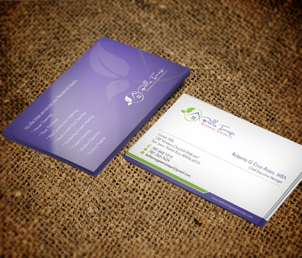 Bella Image Residential Services LLC Business Cards and Stationery  Draft # 7 by Xpert