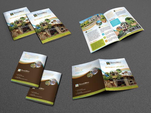 Second Nature Outdoor Living and Landscaping Marketing collateral Winning Design by Achiver