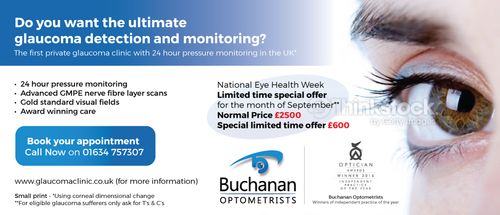 National Newspaper ad for national eye health week Marketing collateral  Draft # 3 by gugunte