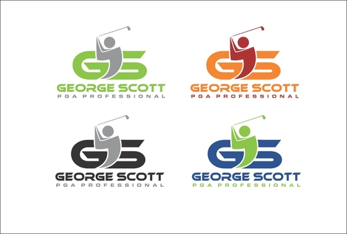 George Scott or GDS Professional Golf Coach A Logo, Monogram, or Icon  Draft # 81 by capt6blok