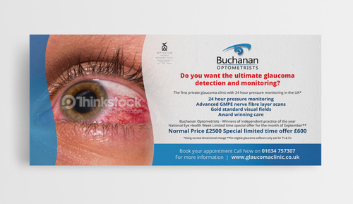 National Newspaper ad for national eye health week Marketing collateral  Draft # 6 by jameelbukhari