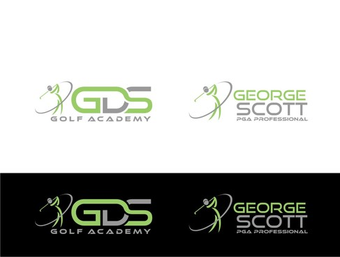 George Scott or GDS Professional Golf Coach A Logo, Monogram, or Icon  Draft # 186 by nellie