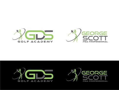 George Scott or GDS Professional Golf Coach A Logo, Monogram, or Icon  Draft # 187 by nellie
