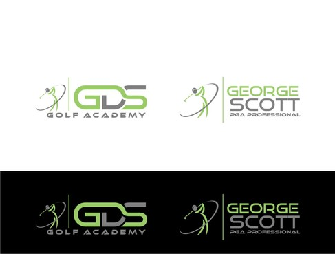 George Scott or GDS Professional Golf Coach A Logo, Monogram, or Icon  Draft # 188 by nellie