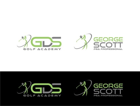 George Scott or GDS Professional Golf Coach Logo Winning Design by nellie