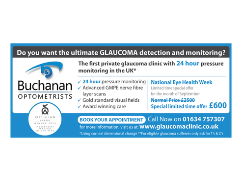 National Newspaper ad for national eye health week Marketing collateral  Draft # 33 by monski
