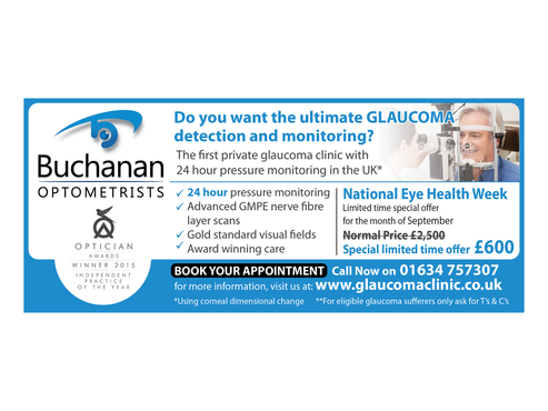 National Newspaper ad for national eye health week Marketing collateral  Draft # 36 by monski