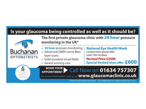 National Newspaper ad for national eye health week Marketing collateral  Draft # 65 by monski