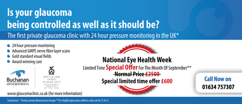 National Newspaper ad for national eye health week Marketing collateral  Draft # 71 by gugunte
