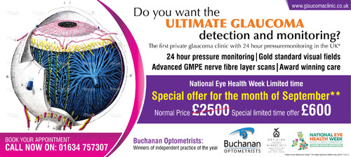 National Newspaper ad for national eye health week Marketing collateral  Draft # 73 by Naqshbd