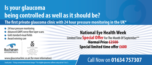National Newspaper ad for national eye health week Marketing collateral  Draft # 80 by gugunte