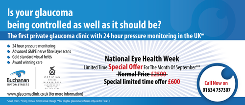 National Newspaper ad for national eye health week Marketing collateral  Draft # 81 by gugunte